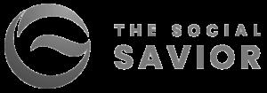 the social savior logo grey